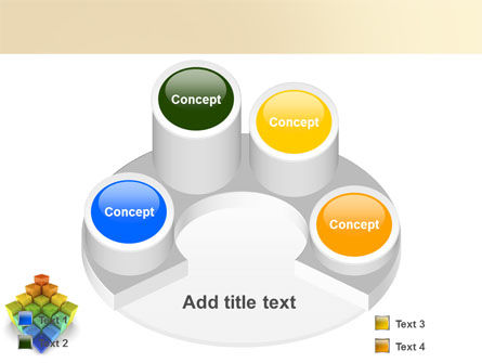 Terraced Stages PowerPoint Template Slide 12