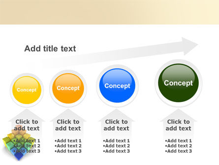 Terraced Stages PowerPoint Template Slide 13