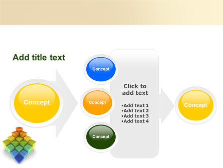 Terraced Stages PowerPoint Template Slide 17