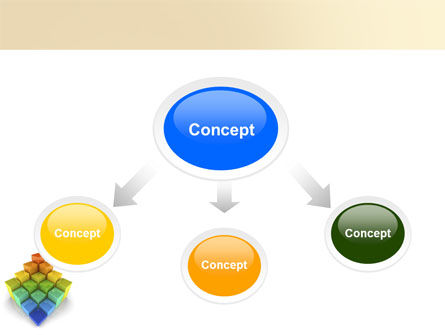 Terraced Stages PowerPoint Template Slide 4