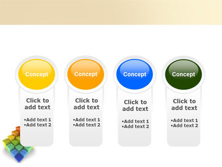 Terraced Stages PowerPoint Template Slide 5