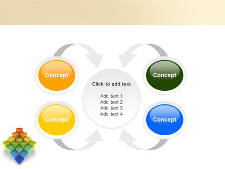 Terraced Stages PowerPoint Template Slide 6
