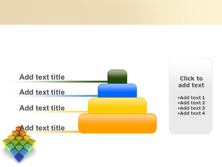 Terraced Stages PowerPoint Template Slide 8