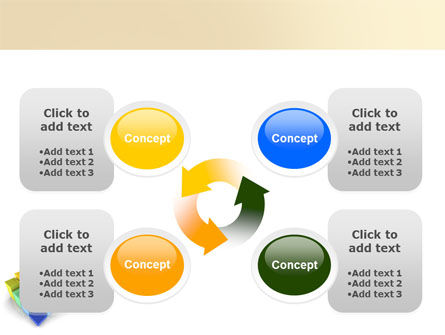 Terraced Stages PowerPoint Template Slide 9