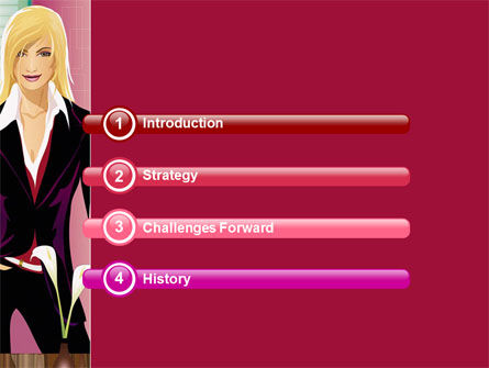 Haute Couture PowerPoint Template, Slide 3, 06025, Careers/Industry — PoweredTemplate.com