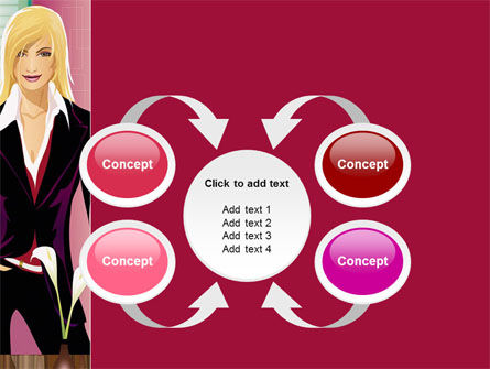 Haute Couture PowerPoint Template Slide 6