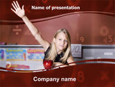 Financial/Accounting: Excellent Pupil In Secondary School PowerPoint Template #06027