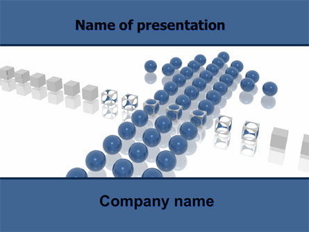 Go Through PowerPoint Template, 06028, Business Concepts — PoweredTemplate.com