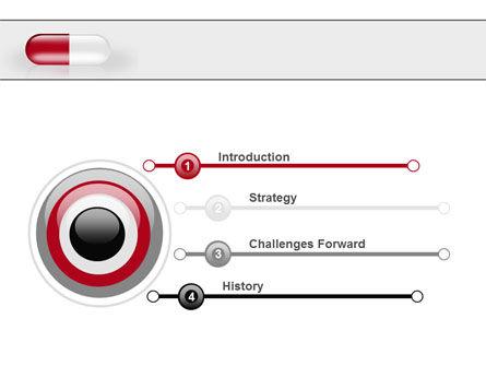 Red Pill PowerPoint Template, Slide 3, 06029, Medical — PoweredTemplate.com