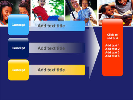 Children Playing PowerPoint Template Slide 12