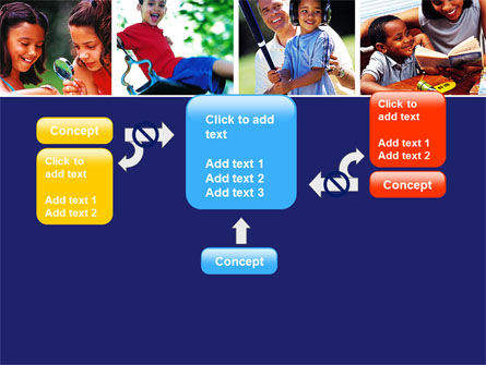 Children Playing PowerPoint Template Slide 13
