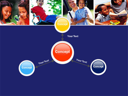 Children Playing PowerPoint Template Slide 14