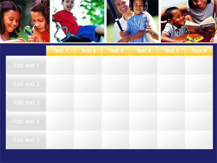 Children Playing PowerPoint Template Slide 15
