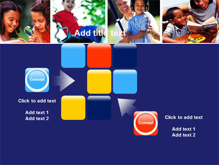 Children Playing PowerPoint Template Slide 16