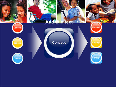 Children Playing PowerPoint Template Slide 17