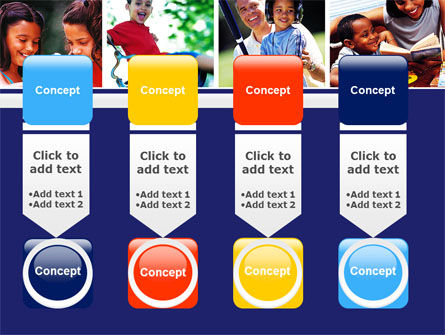 Children Playing PowerPoint Template Slide 18