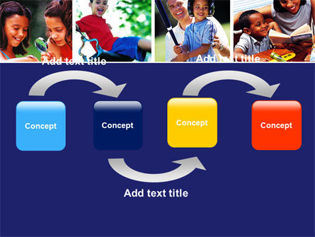 Children Playing PowerPoint Template Slide 4