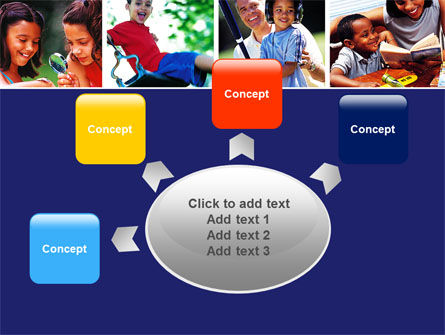 Children Playing PowerPoint Template Slide 7
