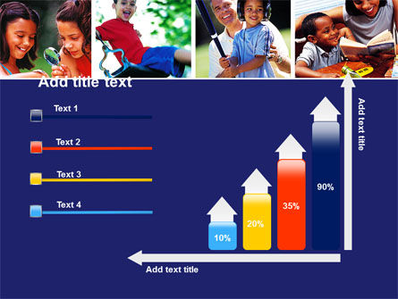 Children Playing PowerPoint Template Slide 8