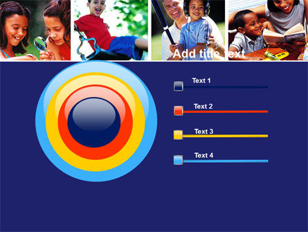Children Playing PowerPoint Template Slide 9