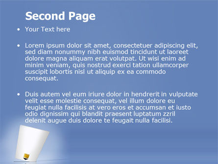 Electronic Card PowerPoint Template, Slide 2, 06033, Technology and Science — PoweredTemplate.com