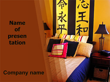 Chinese Interior PowerPoint Template, 06035, Careers/Industry — PoweredTemplate.com