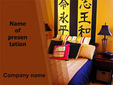 Careers/Industry: Chinese Interior PowerPoint Template #06035