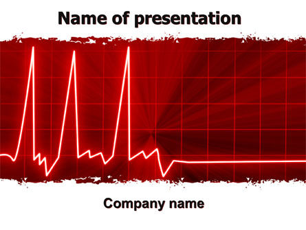 Medical: Heart Rhythm PowerPoint Template #06036