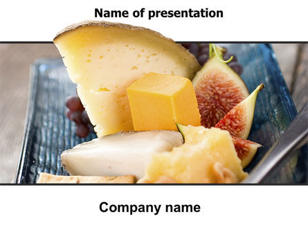 Food & Beverage: Cheese PowerPoint Template #06038