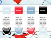 Last Red Piece to Complete Puzzle PowerPoint Template#18