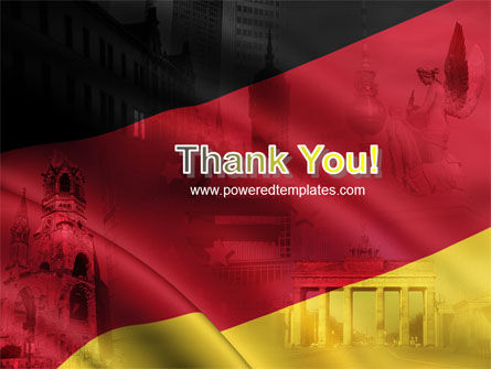 Germany Tricolor PowerPoint Template Slide 20