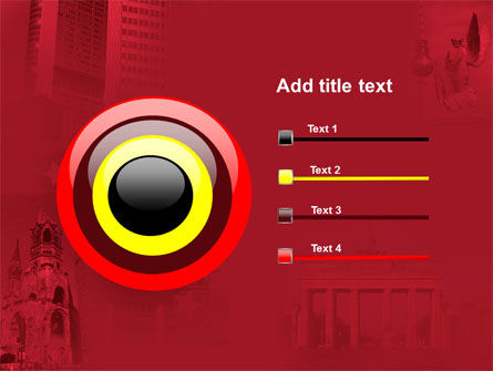 Germany Tricolor PowerPoint Template Slide 9