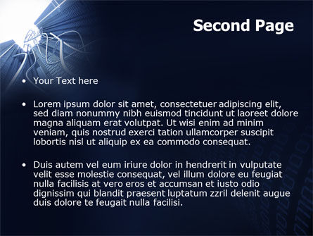 Wired Telecommunication PowerPoint Template, Slide 2, 06042, Technology and Science — PoweredTemplate.com