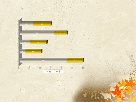 Autumn Pattern PowerPoint Template Slide 11