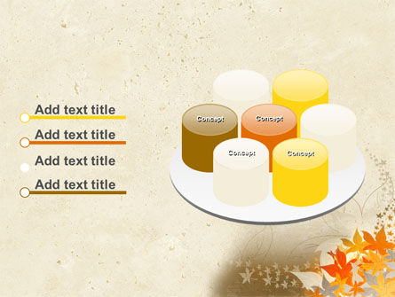 Autumn Pattern PowerPoint Template Slide 12