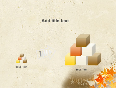 Autumn Pattern PowerPoint Template Slide 13