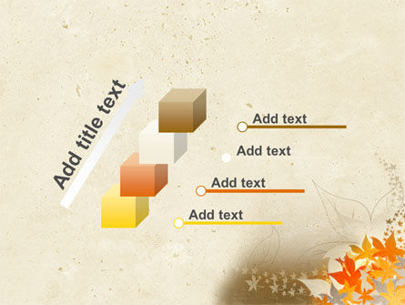 Autumn Pattern PowerPoint Template Slide 14