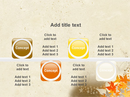 Autumn Pattern PowerPoint Template Slide 18