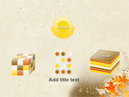 Autumn Pattern PowerPoint Template Slide 19