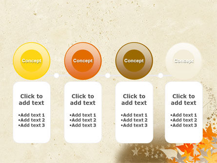 Autumn Pattern PowerPoint Template Slide 5