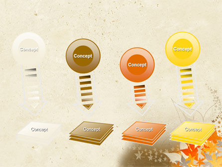 Autumn Pattern PowerPoint Template Slide 8