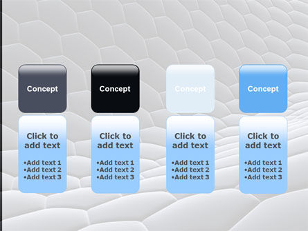 Abstract Cell Surface PowerPoint Template Slide 5