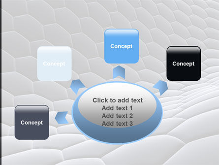 Abstract Cell Surface PowerPoint Template Slide 7