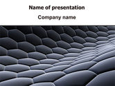 Abstract/Textures: Abstract Cell Surface PowerPoint Template #06048