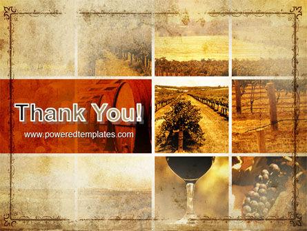Winegrowing PowerPoint Template Slide 20