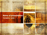 Agriculture: Winegrowing PowerPoint Template #06049