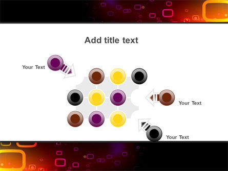 Abstract Dark Brown Graphic PowerPoint Template Slide 10