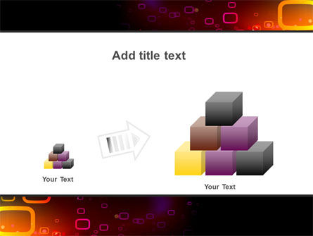 Abstract Dark Brown Graphic PowerPoint Template Slide 13