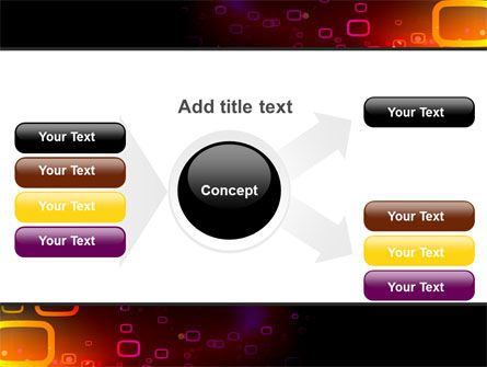Abstract Dark Brown Graphic PowerPoint Template Slide 15