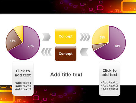 Abstract Dark Brown Graphic PowerPoint Template Slide 16